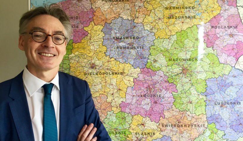 Christopher Todd, dyrektor Wydziału ds. Polski w Dyrekcji Generalnej ds. Polityki Regionalnej i Miejskiej Komisji Europejskiej